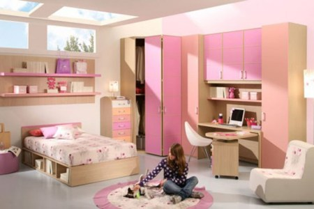 pink cool teenage room designs iroonie.com