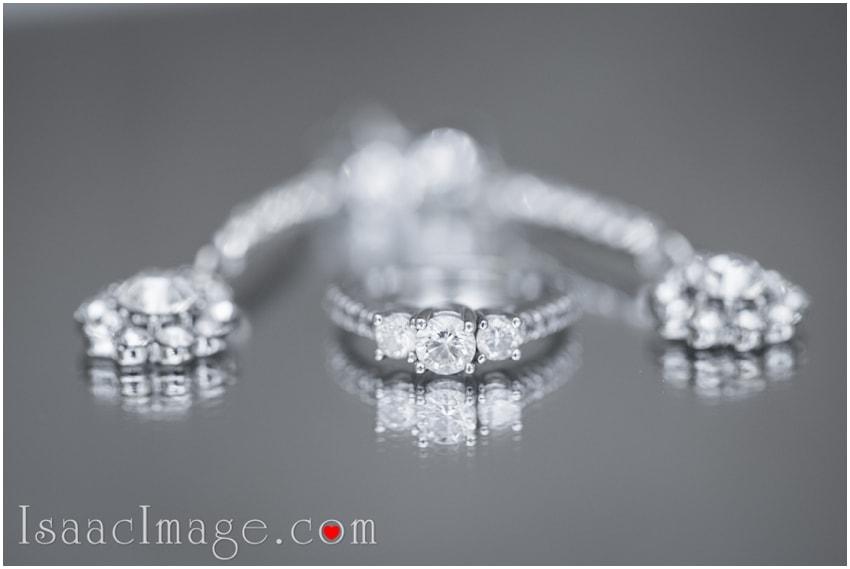 wedding ring earrings