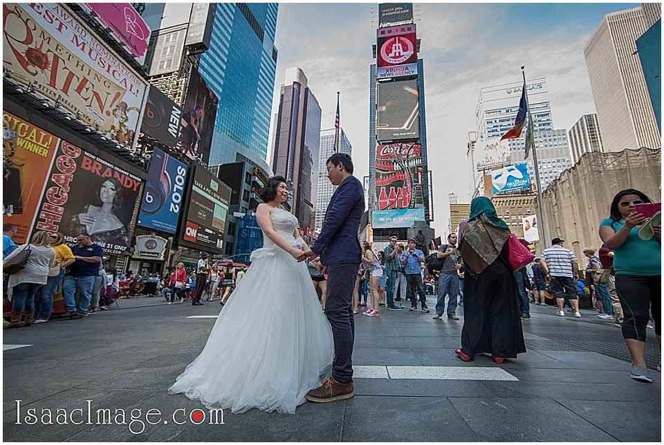 Time Square Wedding picture