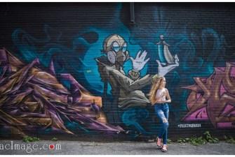Toronto graffiti alley