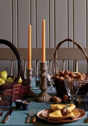 candela a tavola