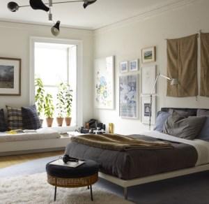 Camera da letto ampia e spaziosa