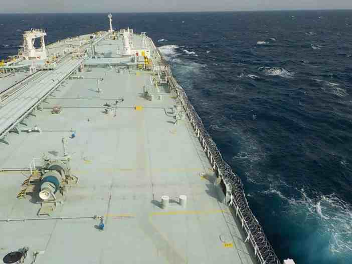 1. Onboard a tanker. Credits to Despoina Paidousi