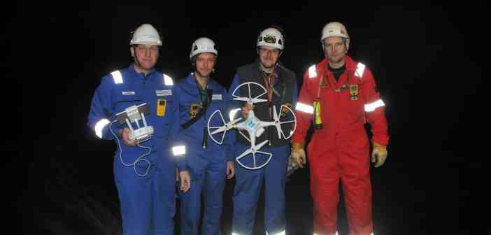 Surveys without scaffolds – DNV GL conducts drone inspection of ship tanks_tcm8-51659