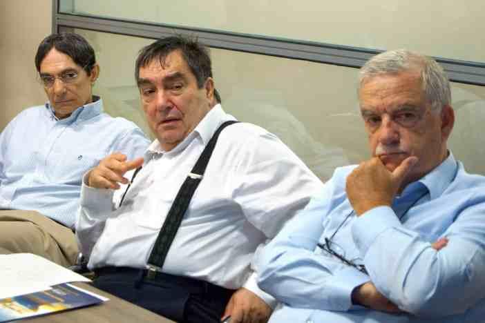 (Α-Δ): κ. Πάνος Ζαχαριάδης, κ. Ιωάννης Κοκαράκης, κ. Ηλίας Λαδάς
