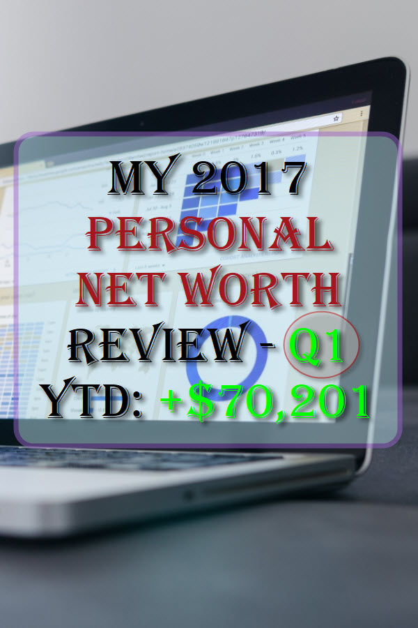 My 2017 Personal Net Worth Review - Q1