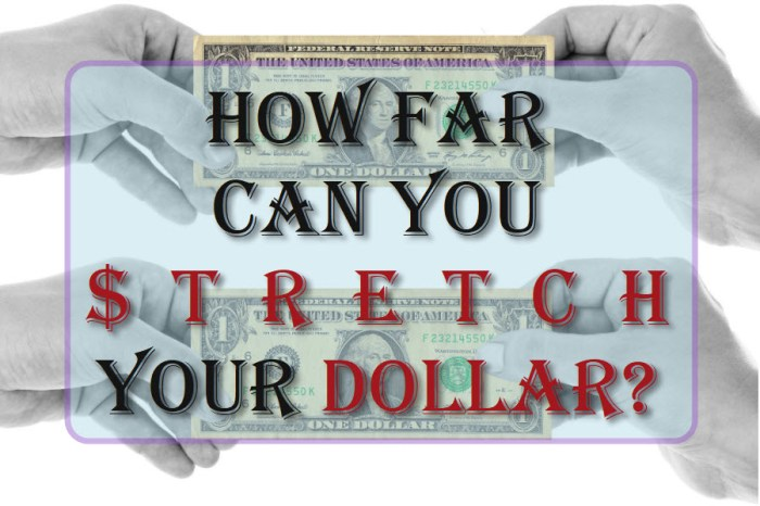 How Far Can You Stretch Your Dollar?