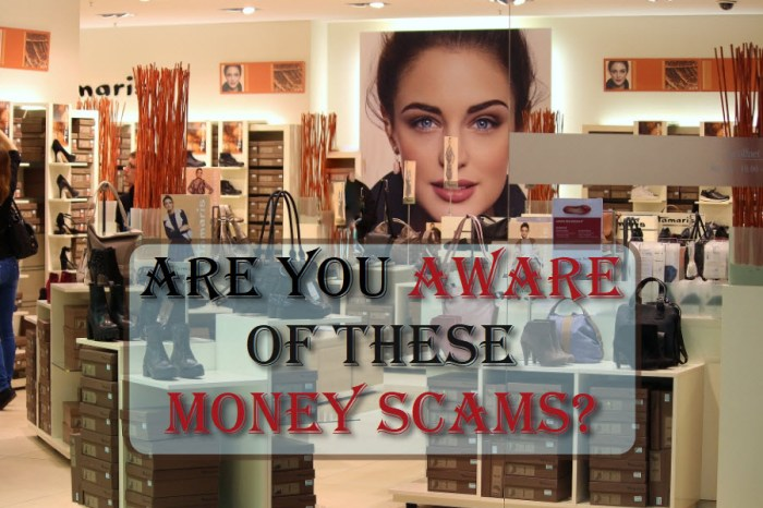 Are You Aware Of These Money Scams?