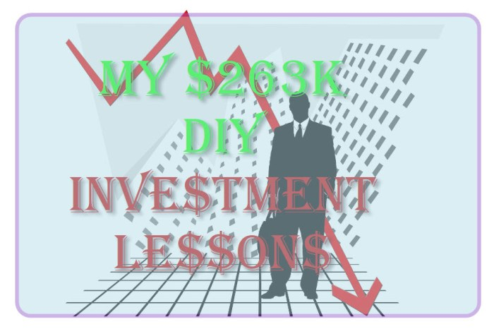 My $263K DIY Investment Lessons