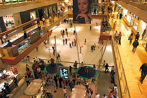 Top 10 busiest shopping malls in america is it packed Burlington coat factory garden city ny