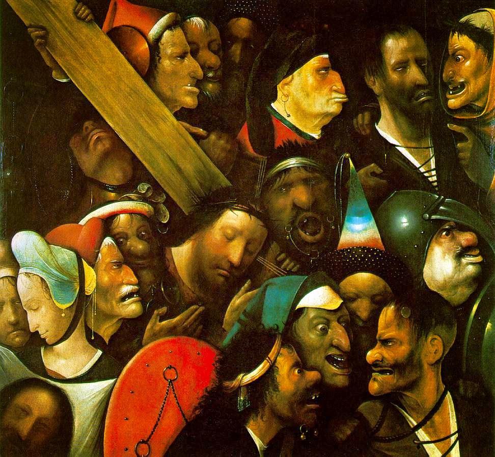 jésus portant la croix-jérôme bosh (la bonne)