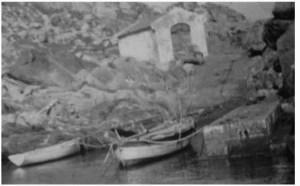 Le barche dei Vitiello a cala di levante