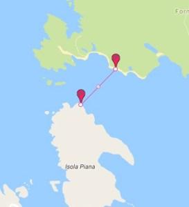 il tratto Fornelli - Isola Piana
