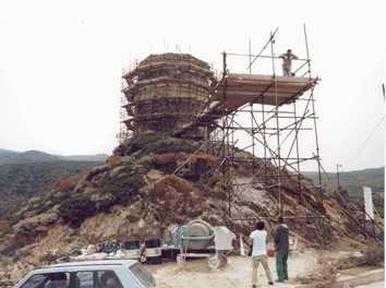 Asinara Cala d'Oliva. 2001 - restauro della Torre