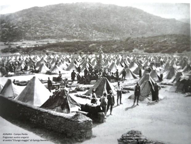 Il Campo di Prigionia austro ungarico di Campo Perdu.