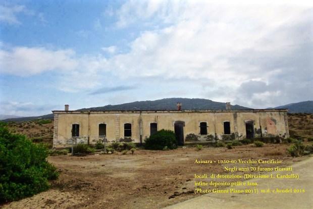 Asinara - Vecchio caseificio di Campo Perdu