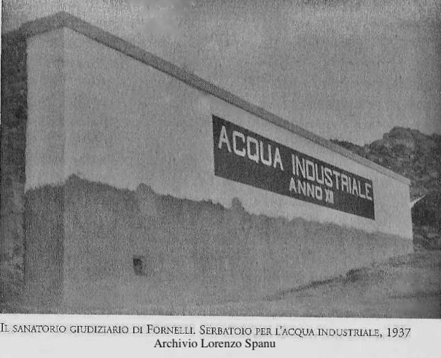 Asinara - Serbatoio di Fornelli