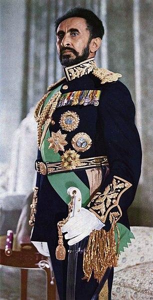 Haile Selassie Imperatore dell'impero Etiope dal '30 al '74