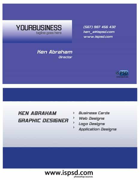Crispy Business Cards