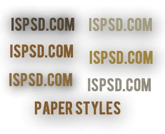Paper_styles