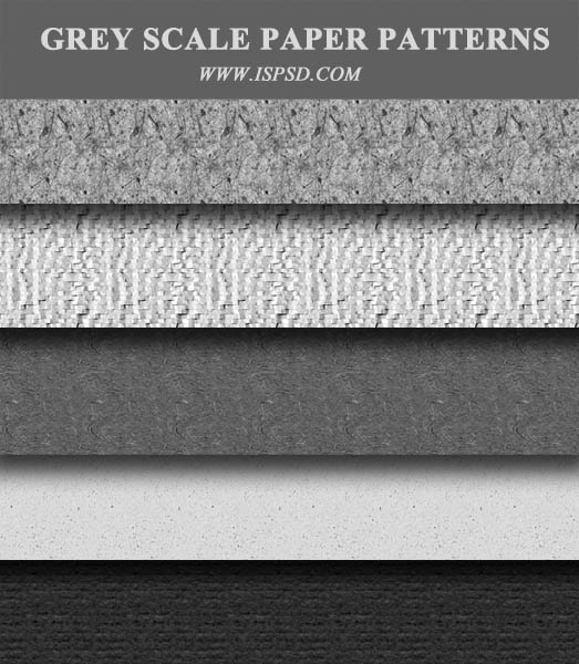 Grayscale Paper Patterns