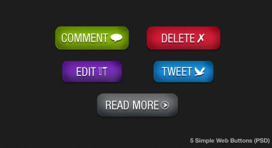 Free psd templates