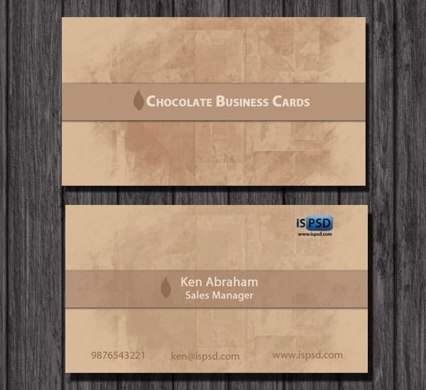 Choclate_Business_cards