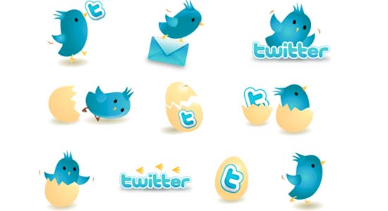 New Twitter Icons