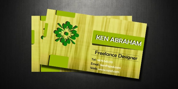 green_business_card