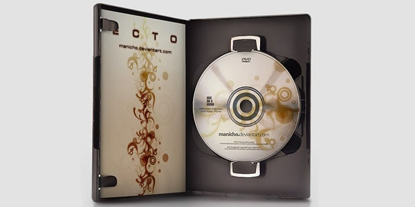 DVD Case+Art - PSD file