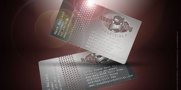 road_dog_business_card_design