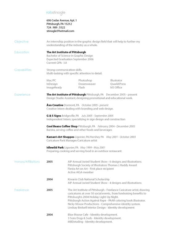 Simple Example Resume  Resume Cv Cover Letter