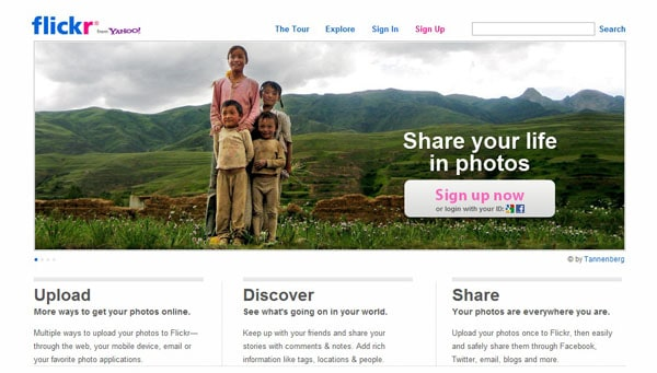 free photo sharing websites
