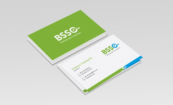 BSSC Green Business Card