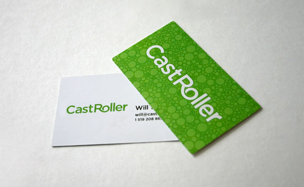 CastRoller Business Cards