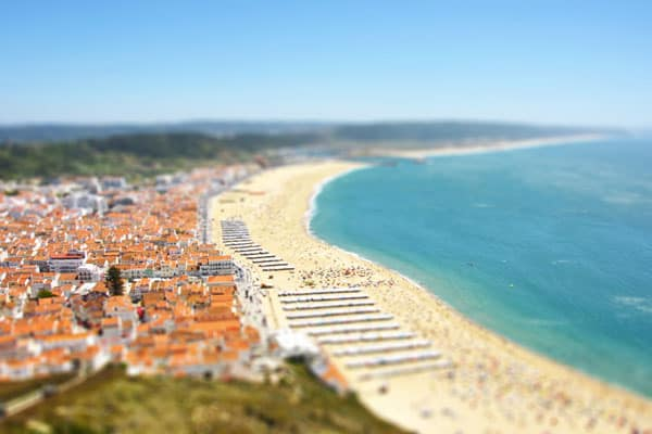 Faking a Tilt Shift Photo