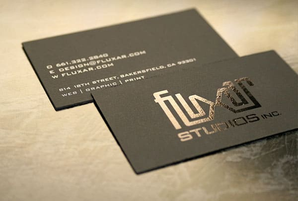 Fluxar Business Card