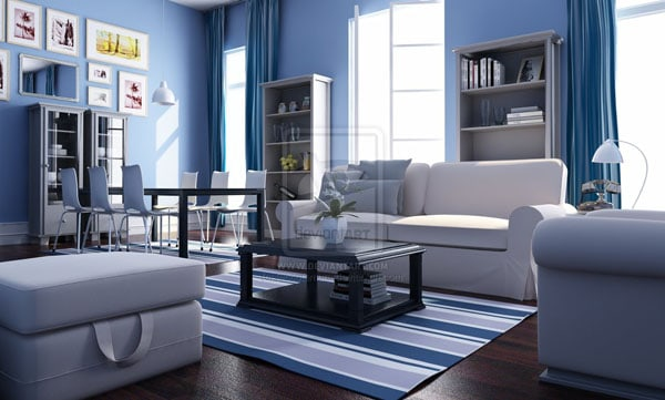 Living Room by leccotamura