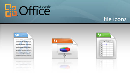 Mircosoft Office file icons