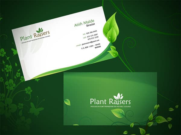 Plant Raiser Business Card