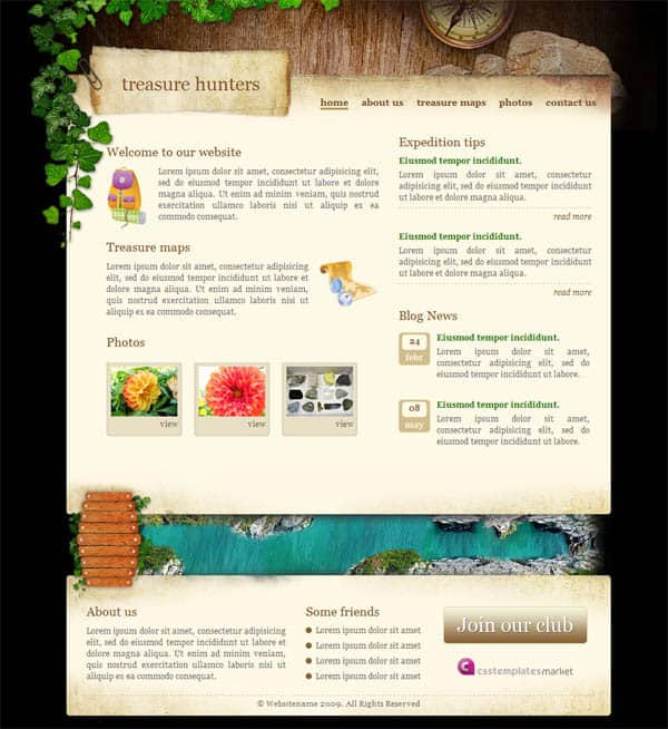 templates for dreamweaver cs6 - 25 free dreamweaver css templates available to download