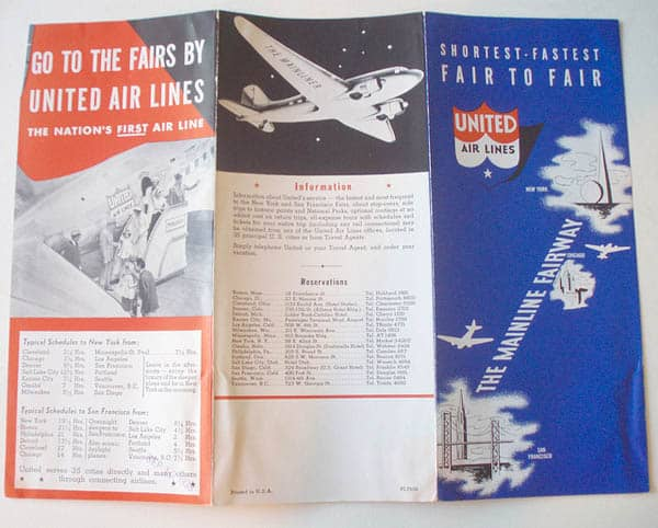 United Airlines 1939