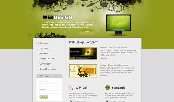 Free dreamweaver ecommerce templates jake 39 s free for Dreamweaver newsletter templates