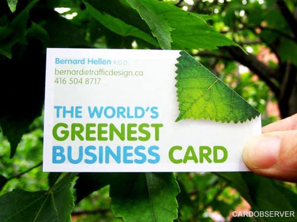 greenest card