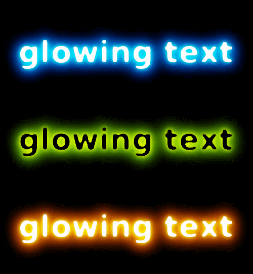 gimp text effects