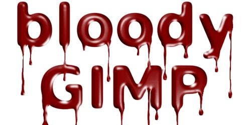 gimp text effects