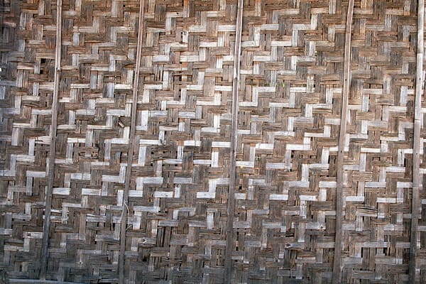 Bamboo Wall Patterns