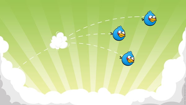 Blue Angry Birds