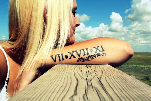 wrist tatoo collections