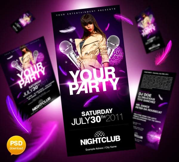 free_party_flyer_templates